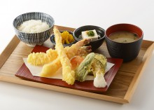 大海老の天ぷら定食