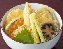 2013_02丼_季節の野菜天丼